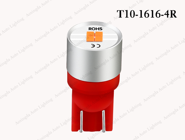 T10 CSP 1616 LED red